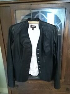 Ladies Spring or Fall Daniel Leather Jacket