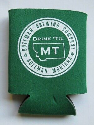 Beer Bottle Can Holder Koozie ~ BOZEMAN Brewing ~ MONTANA ** See STORE for (Bozeman Stores)