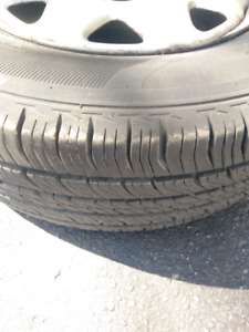 Honda Crv rims and tires. Barely used.