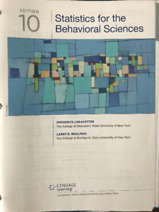 Statistics for the behavioral sciences buy or sell books in statistics for the behavioral sciences 10th edition fandeluxe Choice Image