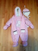 1pc Snowsuit + hat & scarf (brand new)