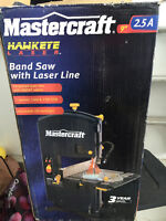 Master Craft Band Saw with Laser Line 9""