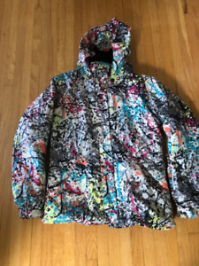 Girl Ski jacket and pants (ROSSIGNOL/UNDER ARMOUR)