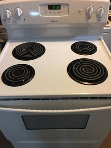 "Used 30"" white stove"