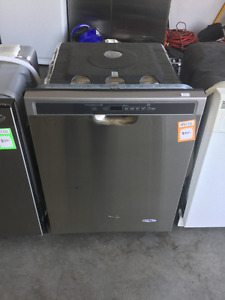 "Stainless Steel 24"" Whirlpool America Dishwasher"