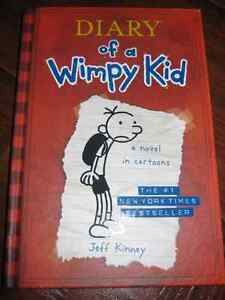 Diary of a Wimpy Kid ( book 1) Hard cover by Jeff Kinney St. John's Newfoundland image 1