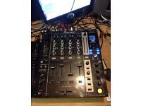 Pioneer djm750k 4channel midi effects mixer