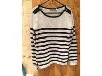 Mint Velvet stripe jumper 8