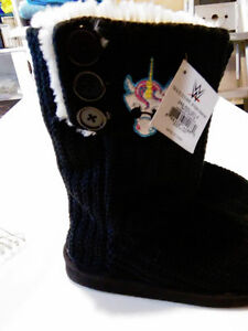 """WWE """"New Day"""" Slipper boots. BRAND NEW+tags"""