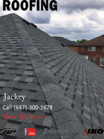 Re-roofing replacement services Free estimate