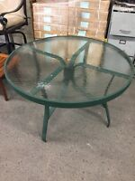 "48"" Round Aluminum Outdoor Patio Table! NEW in BOX!"