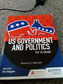 Us government and politics used book