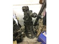 Mazda Rx8 6 speed gearbox and prop with conversion plate