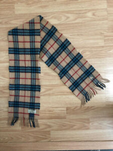 Kids Burberry The Mini Classic Vintage Check Wool/Cashmere Scarf