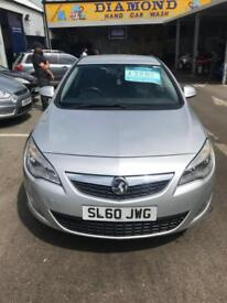 Vauxhall Astra 1.6i 16v VVT 60 plate Exclusive