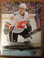 Johnny Gaudreau young guns rookie card 50$