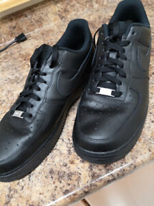 Air Force 1 Shoes Black Nike One Shoe Size 12
