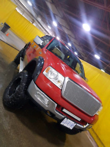 "Ford f150 6"" lift on 35s, rust free PRICE LOWERED"