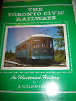 TORONTO CIVIC RAILWAYS, EXCELLENT CONDITION 1986 HARDCOVER