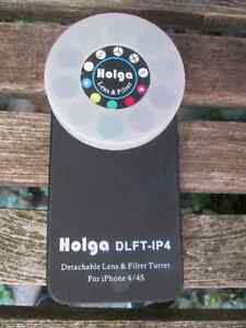 Holga Detachable Lens and Filter Turret DLFT-IP4 for iPhone 4/4S