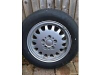 Genuine BMW Alloy wheel 15 inch.