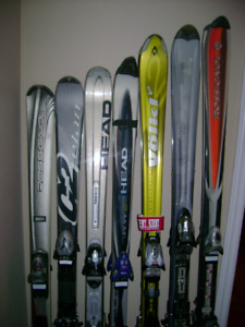 Parabolic Downhill skis for men and women
