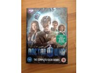 Dr who complete series six DVD collection.