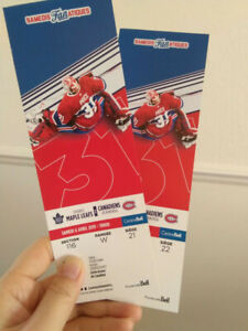 Billets Canadiens vs Maple Leafs 6 avril 2019