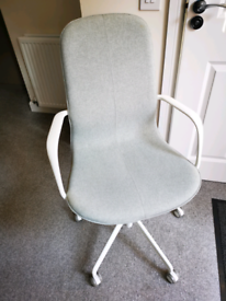 IKEA LÅNGFJÄLL Swivel chair Sage