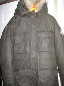 Men's Parka, Company of Adventurers, Down Fill, Fur Collar