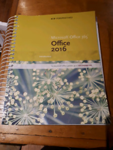 Microsoft Office 365 Office 2016 textbook