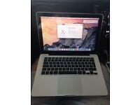 "Apple MacBook Pro A1278 13"" Mid 2012 Core i5 2.5ghz 4GB 500GB macOS Yosemite"