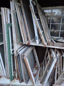 Antique Windows and Frames