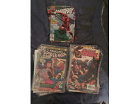 74 mix comic book marvel and dc for sale!