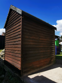 Used Apex Shed for sale, collection only