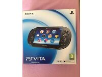 Ps Vita excellent condition with memory of 4gb