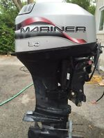 30 HP Mariner Two Stroke with Trim & Tilt
