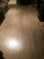 Lamaminate floor installer