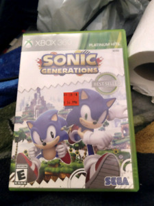 SONIC -the hedgehog xbox 360 game.