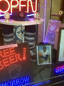 Many Sports Collectables Available