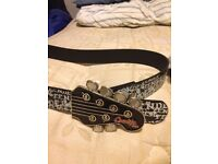 "Fender ""Lowlife of London"" quality belt (not vinyl or guitar!) ***reduced***"