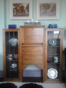 Antique desk/display Cabinet