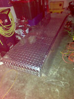 "Stainless steel tool box for pick up truck 58"" $300 firm"