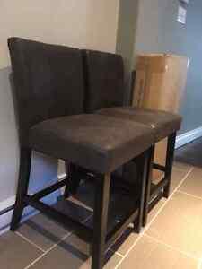 Three Brand New Pub Style Chairs