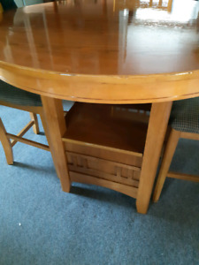 Pub style table n chairs