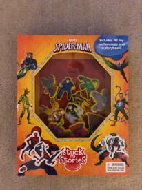 Stuck on Stories Spider-Man