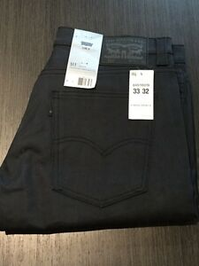 New with tags Levis Jeans 33x32 Slim Fit Line 8