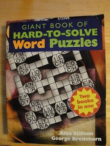 Giant Book of Hard-To-Solve Word & Mind Puzzles