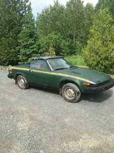 1980 triumph tr7 parts car