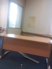 Beech managers corner office desks with